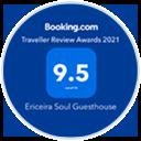 booking award 9.5 logo